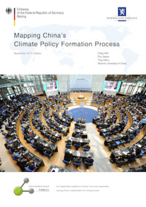 Cover Mapping China's Climate Policy
